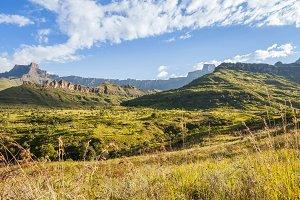 Drakensberg Mountains.