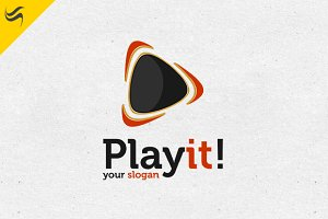 Play It! Logo Template
