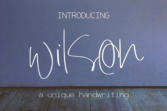 Wilson Font