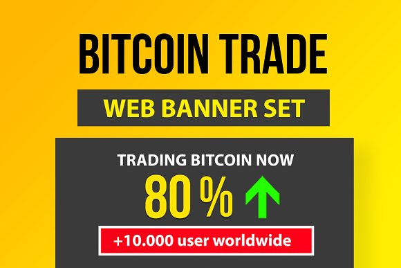 18 Bitcoin CryptoCurrency PSD Banner