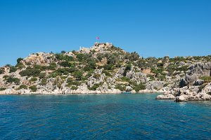 ancient city on the Kekova