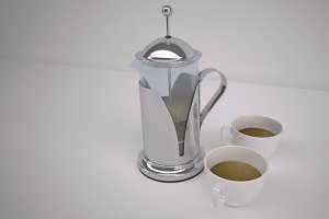 French Press Coffee Pot [cafetiere]
