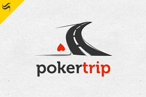 Poker Trip Logo Template