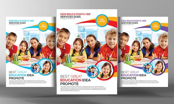 School Flyer Templates Image Collections Template Design Free Download