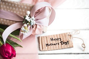 inscription of the mother's day,