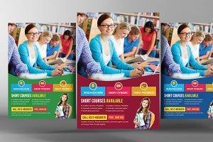 University Education Flyer Template