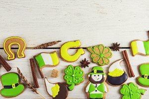 Gingerbreads for Patrick's day