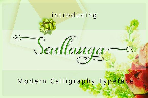 Seullanga Script Font