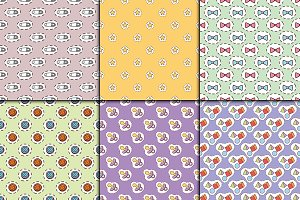 Baby toys cartoon pattern