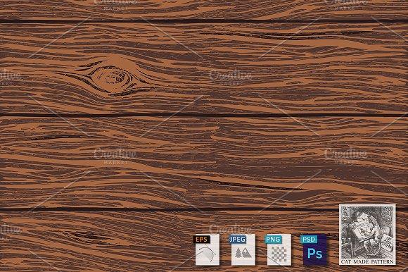 Wooden Oak Boards Background