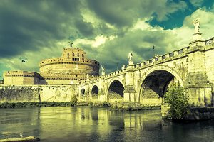 Castel Sant'Angelo in summer