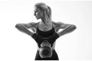 Fitness woman workout
