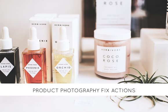 30 Product Photography Fix Actions