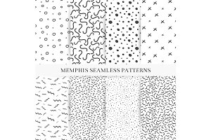 Memphis patterns set