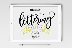 Procreate Lettering Kit