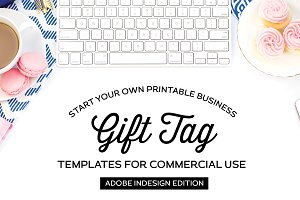 Gift Tag Templates for InDesign