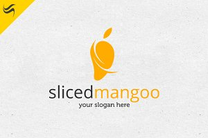 Sliced Mango Logo Template