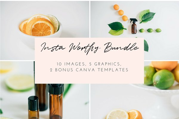 Oiling Styled Stock Photo Bundle  …