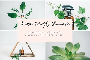 Oiling Styled Stock Photo Bundle | 3