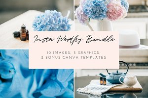 Oiling Styled Stock Photo Bundle | 6