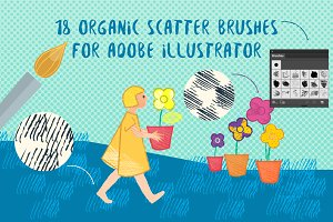 18 Scatter Brushes