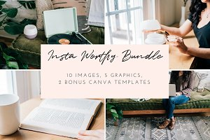 Oiling Styled Stock Photo Bundle | 8