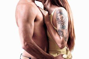 love passionate couple