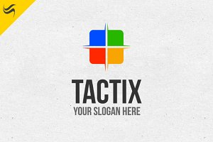 Tactix Logo Template