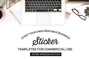 Sticker Templates for InDesign