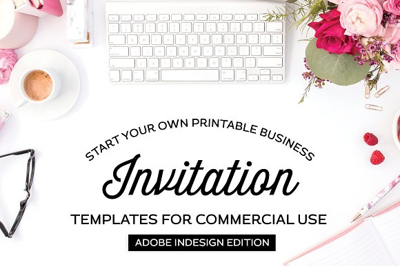 Invitation Templates For InDesign