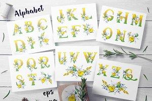 Daffodils  – spring alphabet