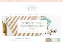 Hello Peach Wordpress Theme