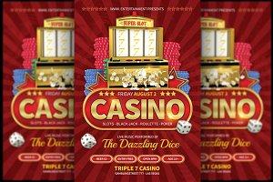 Casino Deluxe Flyer