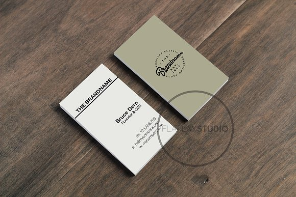 BUSINESS CARD MOCKUP #123