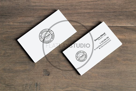 BUSINESS CARD MOCKUP #124