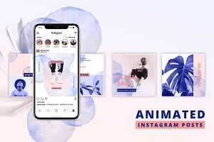 ANIMATED Instagram Posts – Bold
