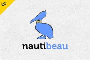 Nauti Beau Logo Template