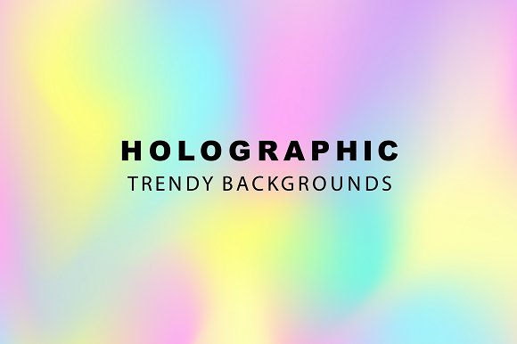 48 Holographic Gradient Patterns Set in Textures - product preview 8