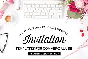 Invitation Templates for Illustrator