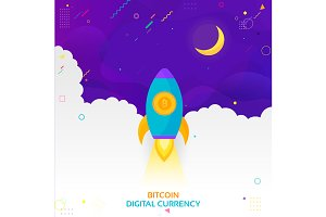 Concept of Cryptocurrency