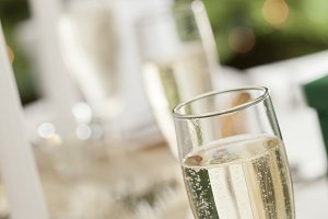 Champagne, Gift with Place Setting
