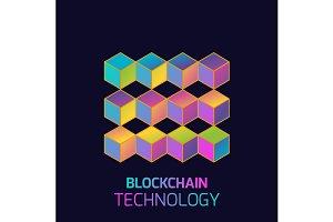 Blockchain technology concept