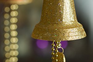 Ornate Hanging Bell Ornament