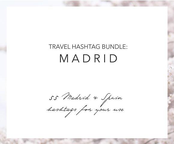 Madrid Spain Instagram Hashtags
