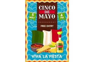 Cinco de Mayo holiday poster