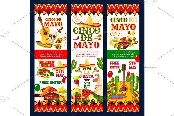 Cinco De Mayo Mexican Fiesta Party Invitation Card