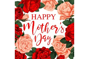 Greeting card Happy Mother s day