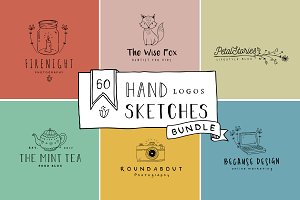 Handmade Logo Bundle Premade Vol 1.