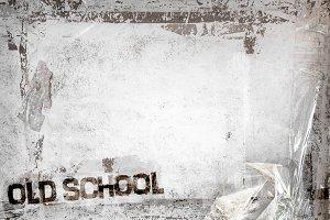 OLD SCHOOL grunge background
