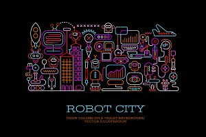Robot City (5 Options)